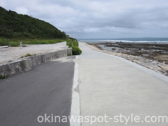 海岸沿いの道1